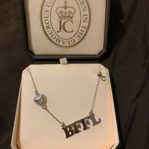 Juicy Couture BFFL necklace